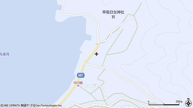 大分県佐伯市蒲江大字西野浦2226周辺の地図