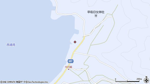大分県佐伯市蒲江大字西野浦2202周辺の地図