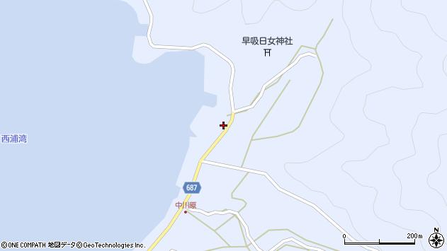 大分県佐伯市蒲江大字西野浦2208周辺の地図