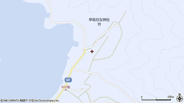 大分県佐伯市蒲江大字西野浦2220周辺の地図