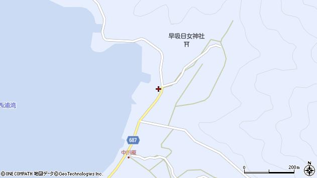 大分県佐伯市蒲江大字西野浦2219周辺の地図