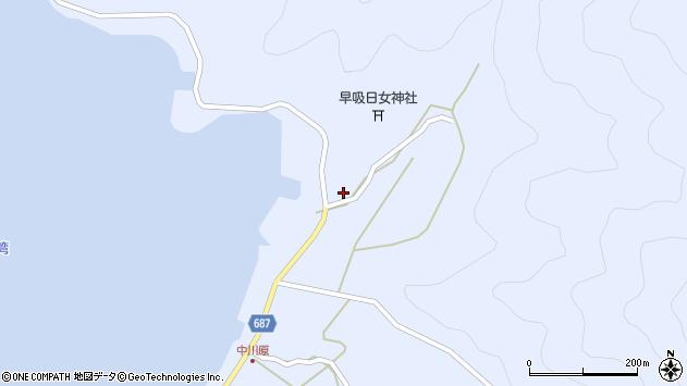 大分県佐伯市蒲江大字西野浦2420周辺の地図