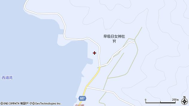 大分県佐伯市蒲江大字西野浦2431周辺の地図