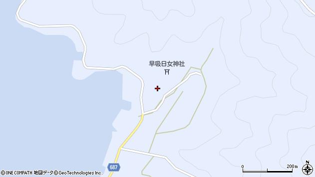 大分県佐伯市蒲江大字西野浦2445周辺の地図
