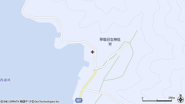 大分県佐伯市蒲江大字西野浦2439周辺の地図