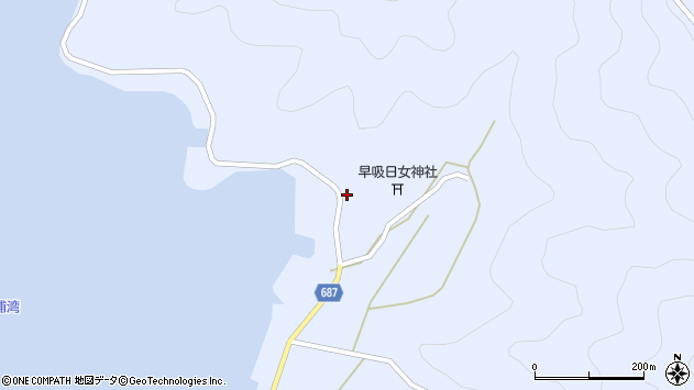 大分県佐伯市蒲江大字西野浦2461周辺の地図