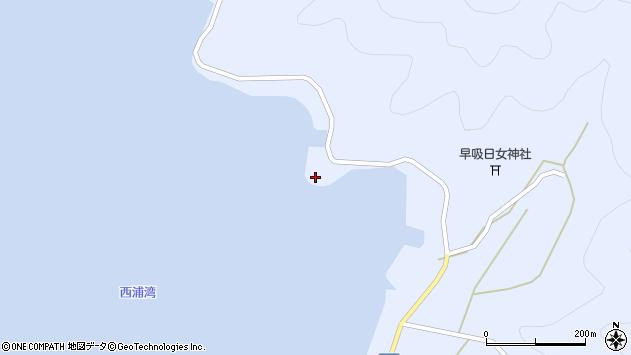 大分県佐伯市蒲江大字西野浦2480周辺の地図