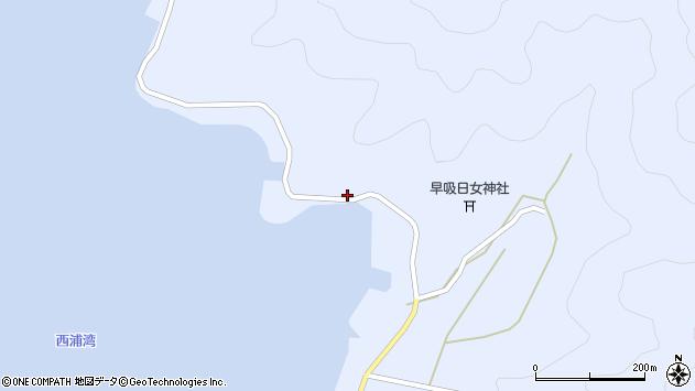 大分県佐伯市蒲江大字西野浦2479周辺の地図