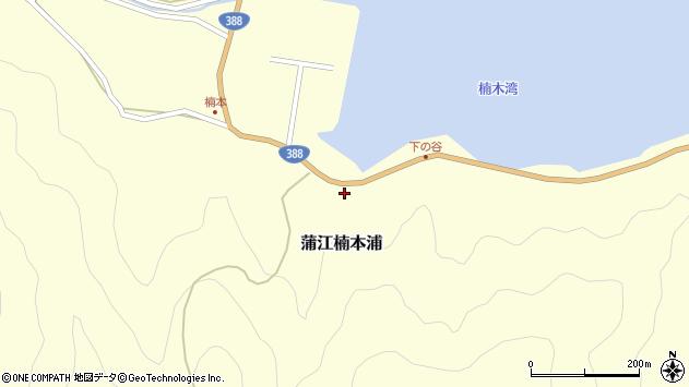 大分県佐伯市蒲江大字楠本浦891周辺の地図