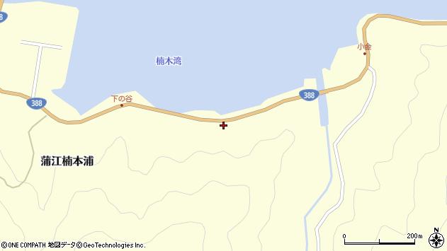大分県佐伯市蒲江大字楠本浦946周辺の地図