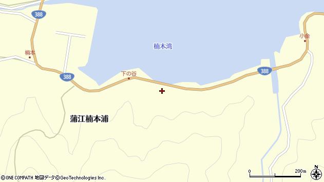 大分県佐伯市蒲江大字楠本浦924周辺の地図