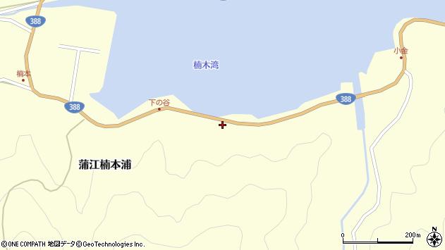 大分県佐伯市蒲江大字楠本浦941周辺の地図