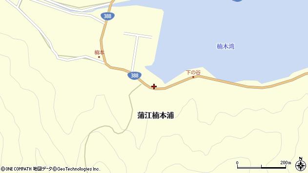 大分県佐伯市蒲江大字楠本浦886周辺の地図