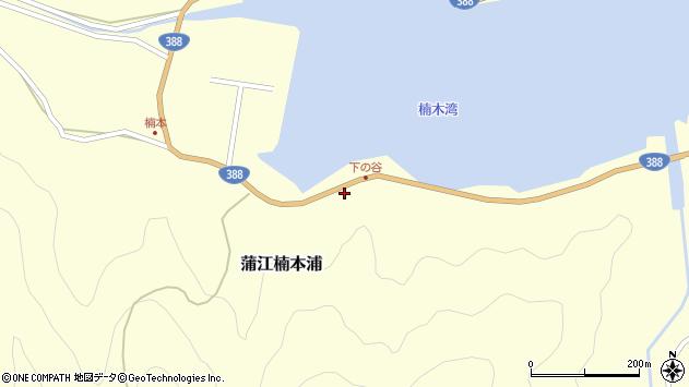 大分県佐伯市蒲江大字楠本浦908周辺の地図