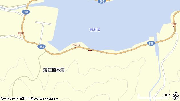大分県佐伯市蒲江大字楠本浦926周辺の地図