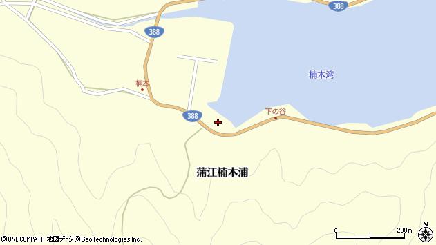 大分県佐伯市蒲江大字楠本浦880周辺の地図
