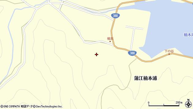 大分県佐伯市蒲江大字楠本浦754周辺の地図