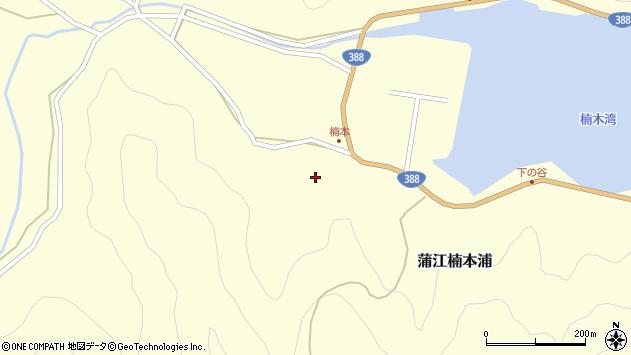 大分県佐伯市蒲江大字楠本浦775周辺の地図