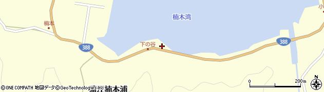 大分県佐伯市蒲江大字楠本浦832周辺の地図