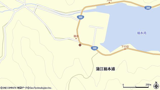 大分県佐伯市蒲江大字楠本浦811周辺の地図