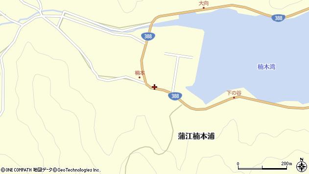 大分県佐伯市蒲江大字楠本浦814周辺の地図