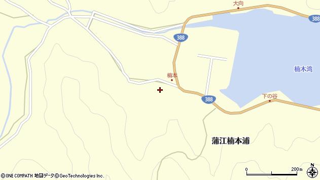 大分県佐伯市蒲江大字楠本浦784周辺の地図