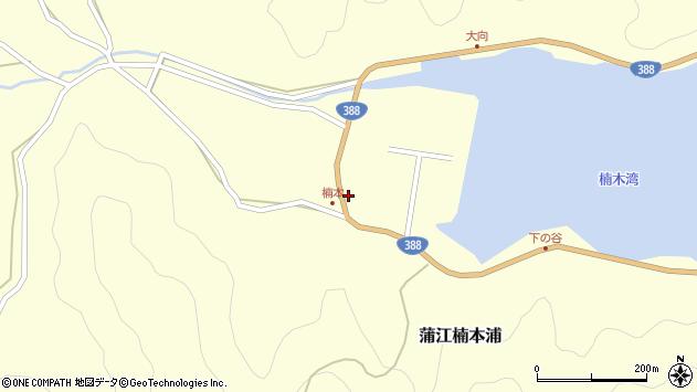 大分県佐伯市蒲江大字楠本浦686周辺の地図