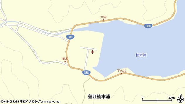 大分県佐伯市蒲江大字楠本浦666周辺の地図
