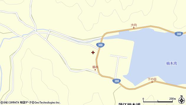 大分県佐伯市蒲江大字楠本浦715周辺の地図