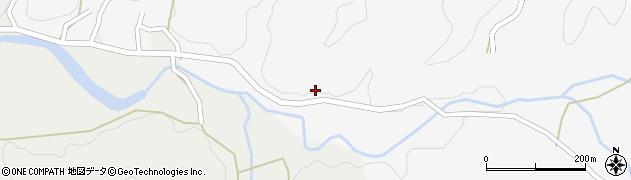 大分県佐伯市宇目大字大平501周辺の地図