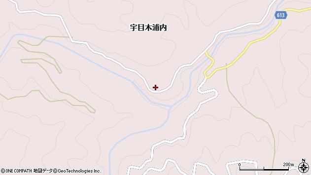 大分県佐伯市宇目大字木浦内325周辺の地図