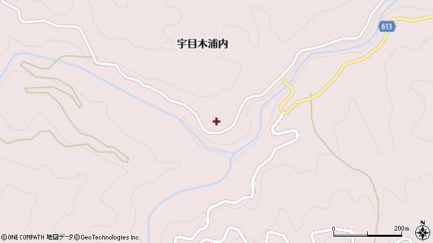 大分県佐伯市宇目大字木浦内328周辺の地図