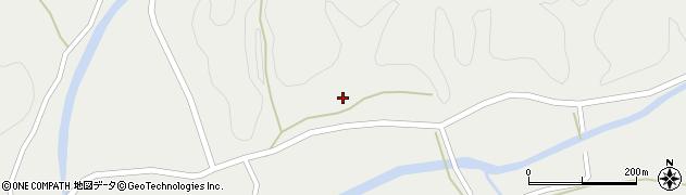 大分県佐伯市宇目大字重岡249周辺の地図