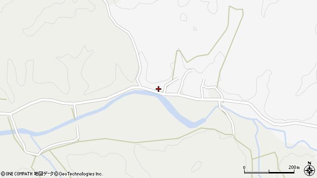 大分県佐伯市宇目大字大平279周辺の地図