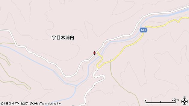 大分県佐伯市宇目大字木浦内352周辺の地図