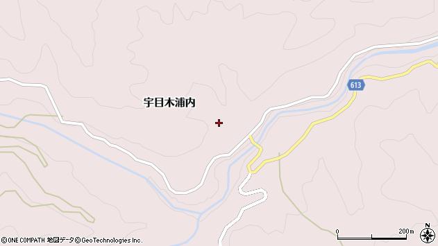 大分県佐伯市宇目大字木浦内御泊周辺の地図