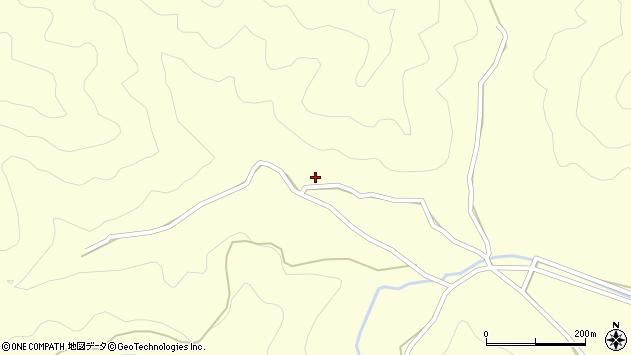 大分県佐伯市蒲江大字楠本浦336周辺の地図