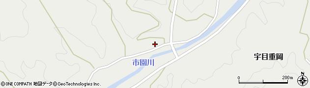大分県佐伯市宇目大字重岡961周辺の地図