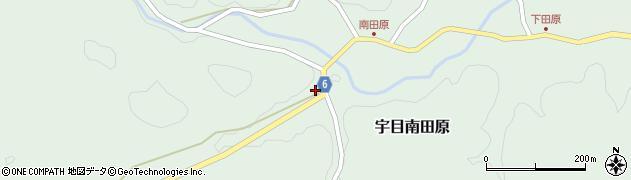 大分県佐伯市宇目大字南田原932周辺の地図