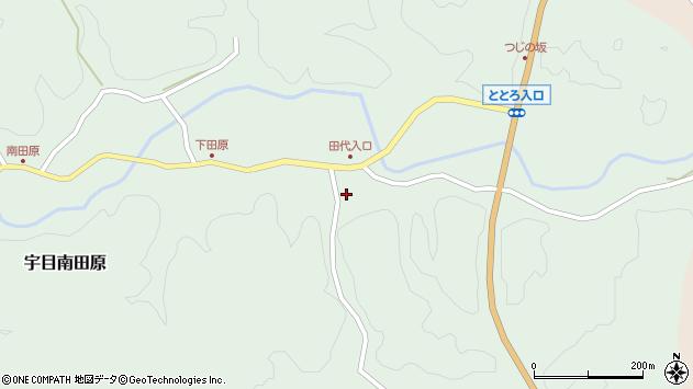 大分県佐伯市宇目大字南田原219周辺の地図