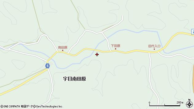 大分県佐伯市宇目大字南田原565周辺の地図