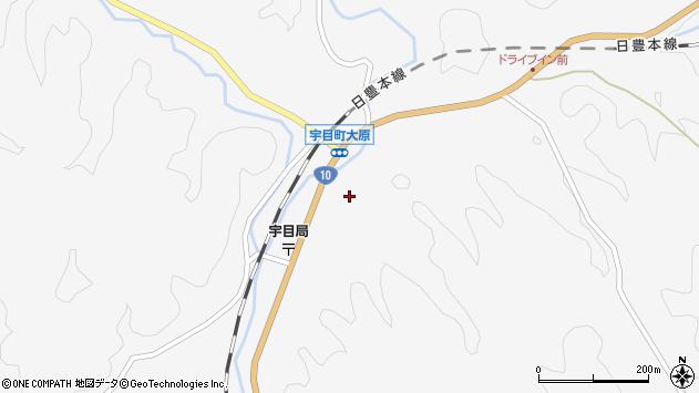 大分県佐伯市宇目大字大平2072周辺の地図