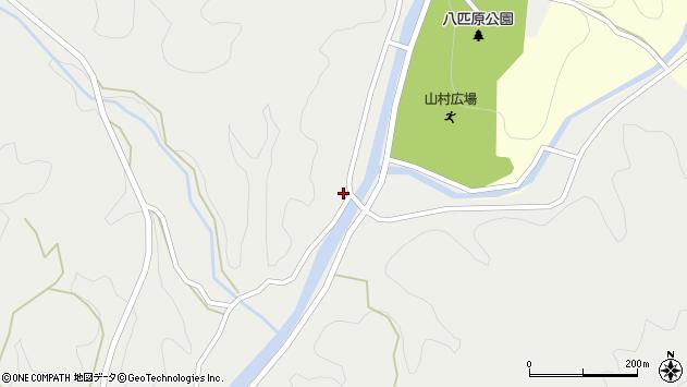 大分県佐伯市宇目大字重岡654周辺の地図
