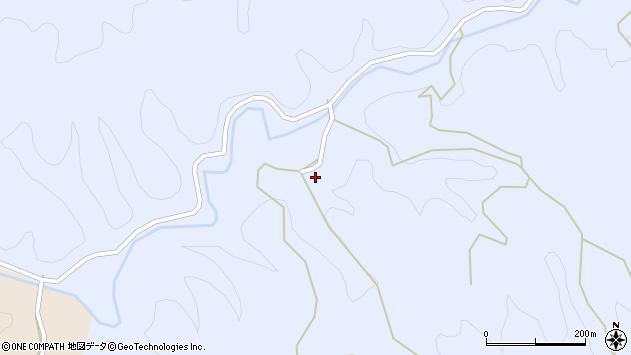 大分県佐伯市宇目大字千束255周辺の地図