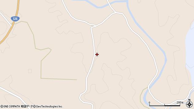 大分県佐伯市宇目大字小野市4170周辺の地図