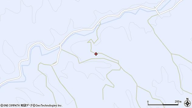 大分県佐伯市宇目大字千束河尻周辺の地図