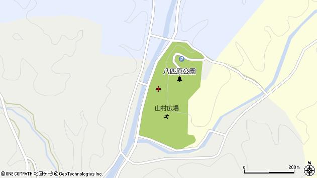 大分県佐伯市宇目大字塩見園10周辺の地図