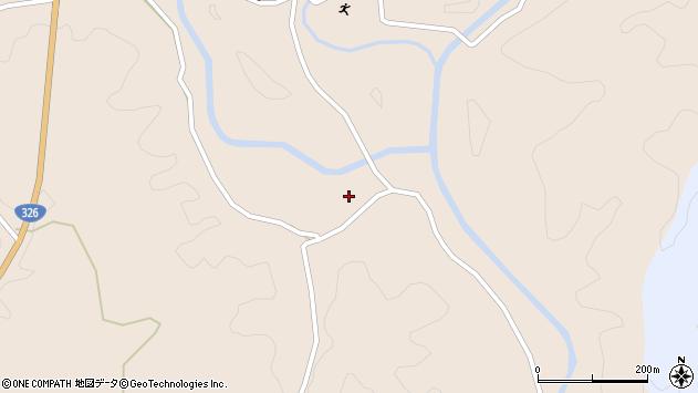 大分県佐伯市宇目大字小野市4035周辺の地図
