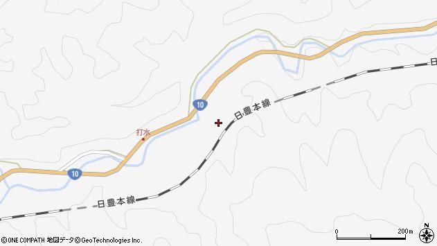 大分県佐伯市直川大字仁田原2699周辺の地図