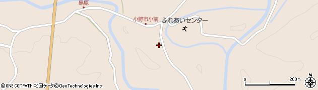 大分県佐伯市宇目大字小野市3792周辺の地図
